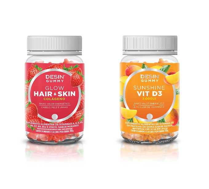 Desin Gummy é a novidade da Desin Nutrition - EmbalagemMarca