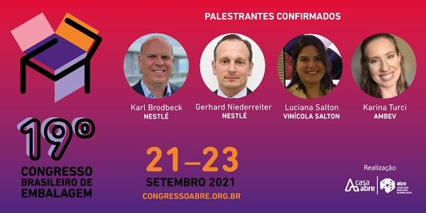 Congresso Brasileiro de Embalagem começa amanhã