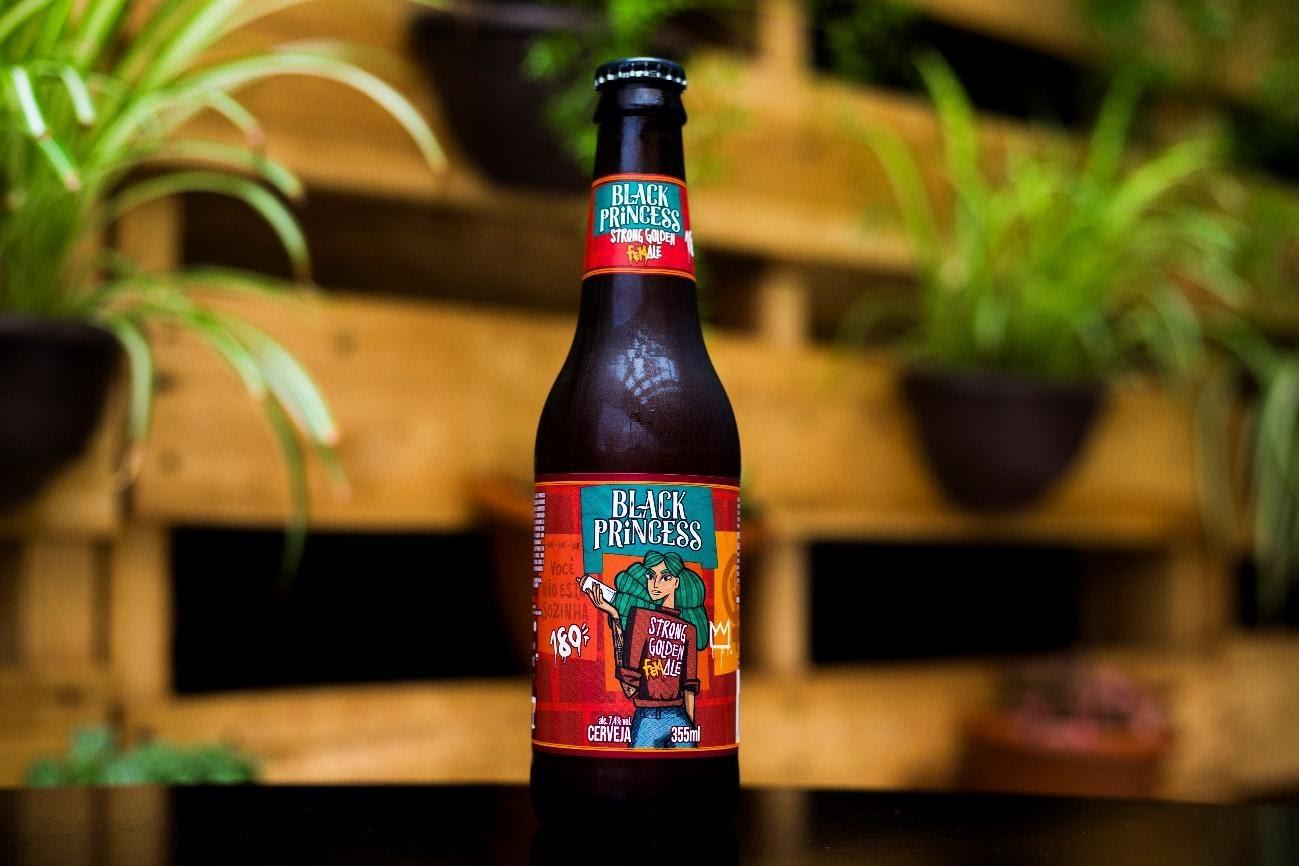 Black Princess lança cerveja feita só por mulheres